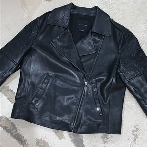 MARCIANO LEATHER JACKET
